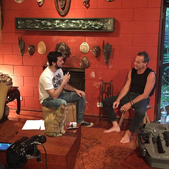 Nasi em entrevista exclusiva para o MundoIRA!