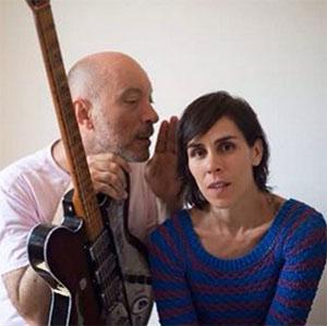 Edgard Scandurra e Silvia Tape