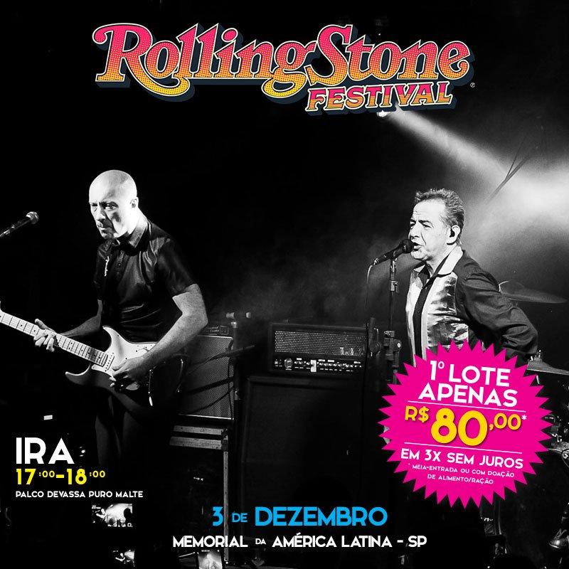 Ira! no Festival Rolling Stone