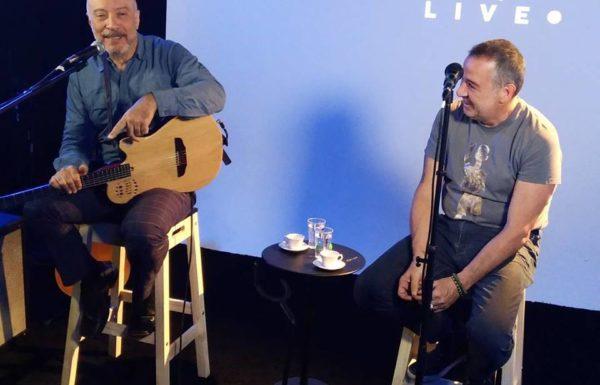 Ira! Folk se apresenta no estúdio da ONErpm Brasil