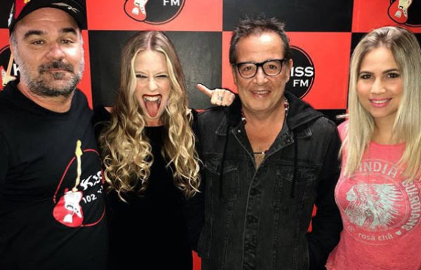 "Nasi participa do programa ""Rock a 3"" na Kiss FM"